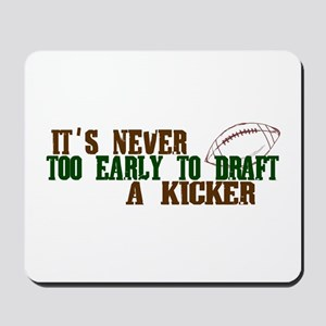 Fantasy Football Draft Kicker Mousepad