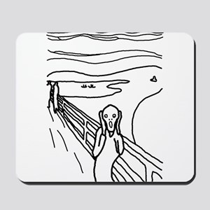 The Scream - Mousepad