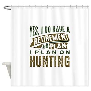 Pheasant Hunting Shower Curtains