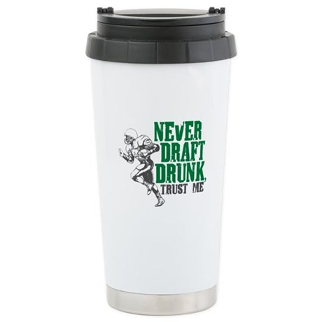 Fantasy Football Draft Drunk Stainless Steel Trave