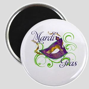 Mardi Gras Design 5 Magnet
