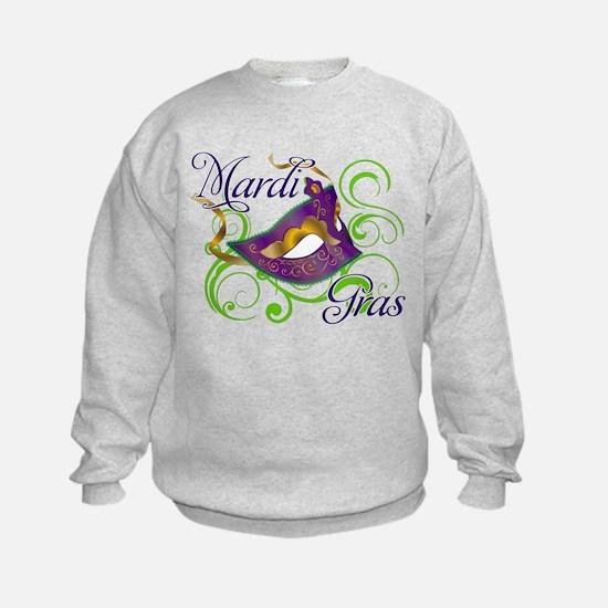 Mardi Gras Design 5 Sweatshirt