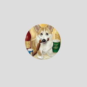 """Food Hound"" - Corgi Mini Button (10 pack)"
