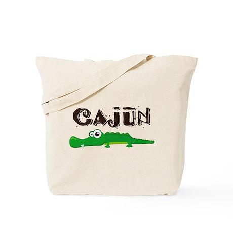 Cajun Gator Tote Bag