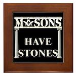 Masons Stones Framed Tile