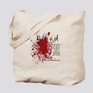 Dexter - Blood Quote Tote Bag
