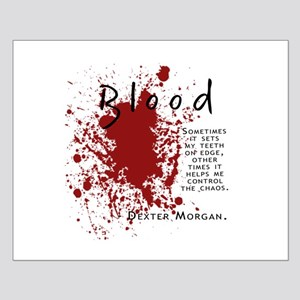 Dexter - Blood Quote Small Poster