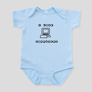 I love Computers! Infant Bodysuit