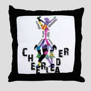 Stunt Pattern 2 Throw Pillow