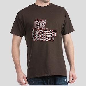 Zebra Cheerleader Dark T-Shirt