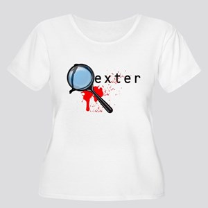 Dexter 1 Women's Plus Size Scoop Neck T-Shirt