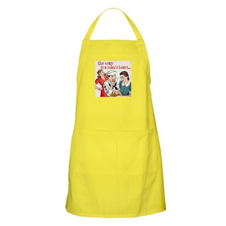The way to a man's heart Light Apron
