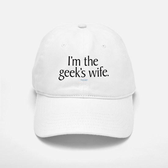 Geek's Wife Baseball Baseball Cap