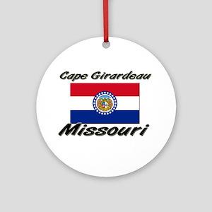 Cape Girardeau Missouri Ornament (Round)