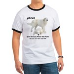 Great Pyrenees Potato Chip Ringer T