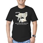 Great Pyrenees Potato Chip Men's Fitted T-Shirt (d