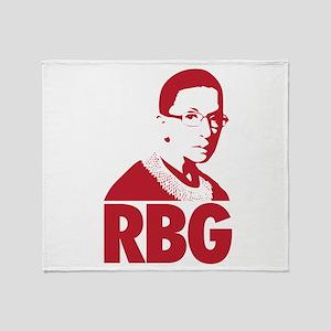 ruth bader ginsburg RBG Throw Blanket