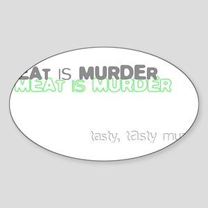 tasty Oval Sticker