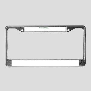tasty License Plate Frame