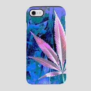 Pink Kush Leaf iPhone 7 Tough Case