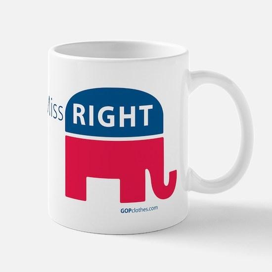 Miss RIGHT Mug
