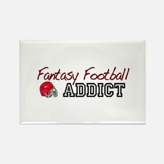 Fantasy Football Addict Rectangle Magnet