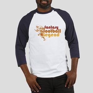 Retro Fantasy Football Legend Baseball Jersey
