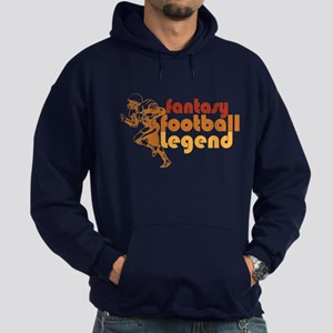 Retro Fantasy Football Legend Hoodie (dark)