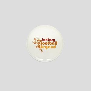 Retro Fantasy Football Legend Mini Button