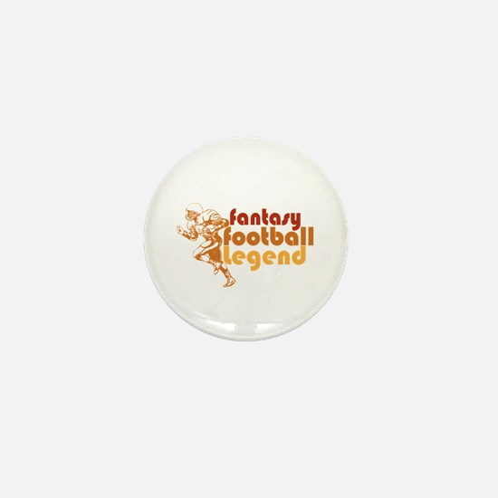 Retro Fantasy Football Legend Mini Button