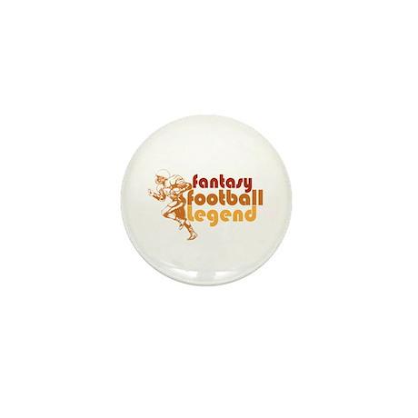 Retro Fantasy Football Legend Mini Button (100 pac