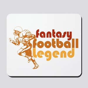 Retro Fantasy Football Legend Mousepad