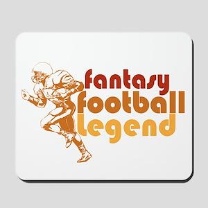 Retro Fantasy Football Legend Mousepad