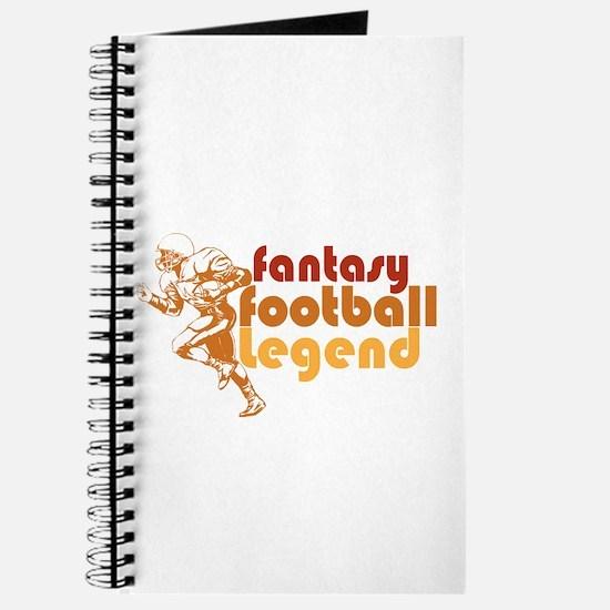 Retro Fantasy Football Legend Journal