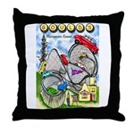 Gould's Tenth Classic Event Throw Pillow