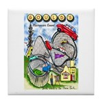 Gould's Tenth Classic Event Tile Coaster