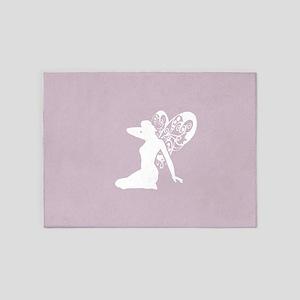 Fairy (Light Purple) 5'x7'Area Rug