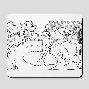 The Birth of Venus - Mousepad