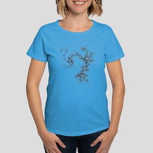 Mandelbrot Archipelago Women's Dark T-Shirt