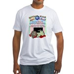 Boycott the Circus Fitted T-Shirt