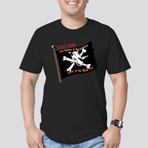 YAPC 2009 Black Perl Men's Fitted T-Shirt (dark)