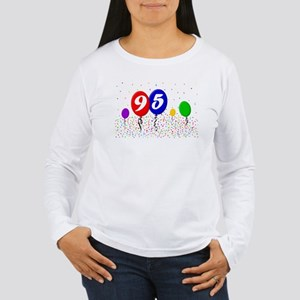 95th Birthday Women's Long Sleeve T-Shirt