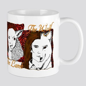 Twilight Lion, Lamb & Wolf Mug