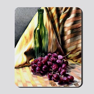Gold & Grapes Mousepad