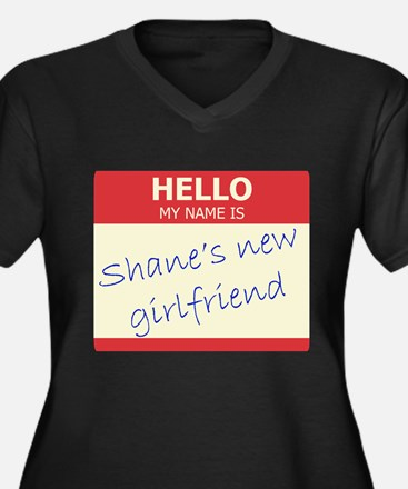 Shane's New Girlfriend Women's Plus Size V-Neck Da