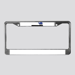 tooth brush License Plate Frame