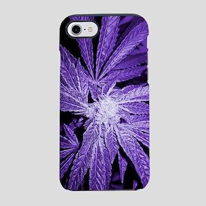 Purple Cannabis iPhone 7 Tough Case