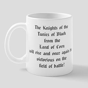 Tunics of Black Mug