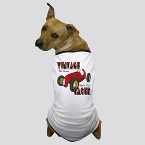 Sprint Car Vintage Racer Dog T-Shirt