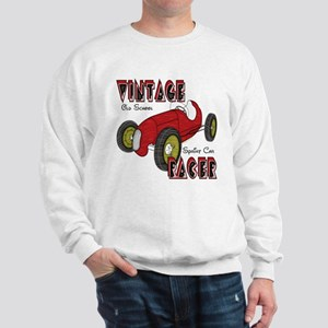 Sprint Car Vintage Racer Sweatshirt